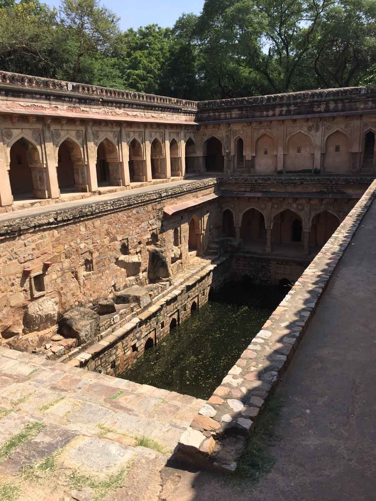 Mehrauli Step well