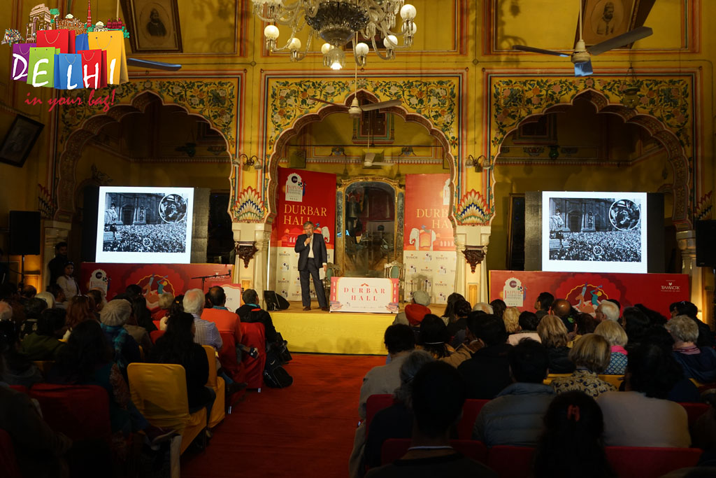 Darbar Hall at JLF